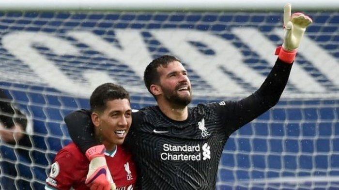 Hasil Liga Inggris - Gol Menit ke-95 Kiper Liverpool Jaga Asa The Reds ke Liga Champions