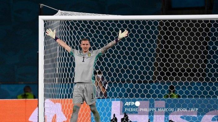 Hasil Euro 2020 - Kiper Swedia Robin Olsen Tampil Perkasa, Spanyol Ditahan Imbang 0-0