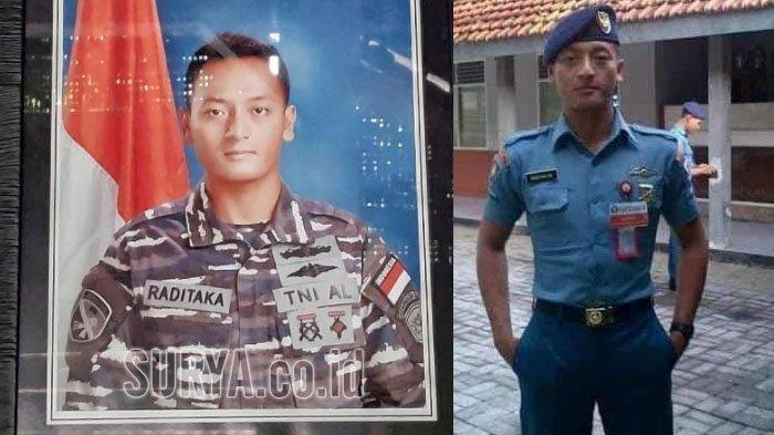 Kls Isy Raditaka Mardyansah (26), awak KRI Nanggala 402 dariDesa Kesamben, Kecamatan Plumpang, Tuban. Kls Dika menunjukkan gelagat aneh sebelum berangkat bertugas