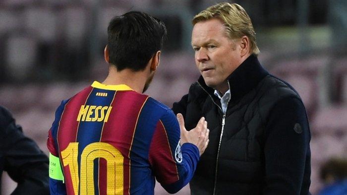 Blak-blakan Ronald Koeman Ungkap Sosok Pengganti Messi di Barcelona, Dulu Dituding Musuh La Pulga