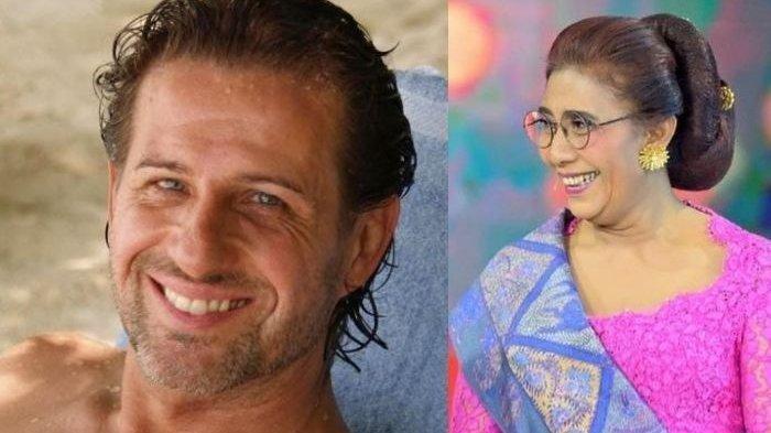 Kisah Cinta Susi Pudjiastuti dengan Daniel Kasier, Terungkap Panggilan Mesra dari si Bule Tampan