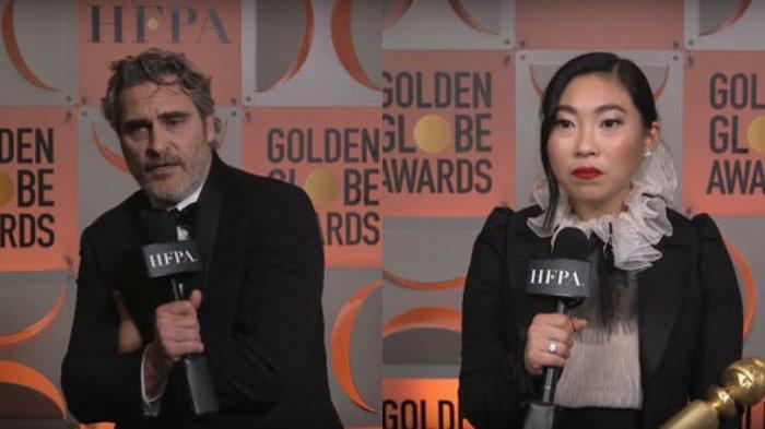 Daftar Lengkap Pemenang Golden Globe Awards 2020, Ada Joaquin Phoenix hingga Awkwafina