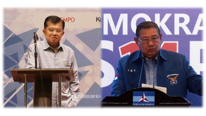 Jusuf Kalla Ungkap Alasannya 'Nekat' Hadapi SBY di Pilpres 2009: Saya Ketua Partai Ada Harkat Partai