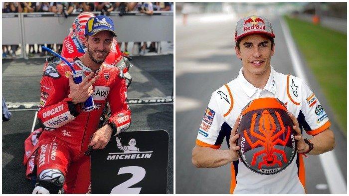 MotoGP 2020, Marc Marquez Ungkap Andrea Dovizioso Calon Lawan Utamanya: Tapi Saya Tidak Khawatir