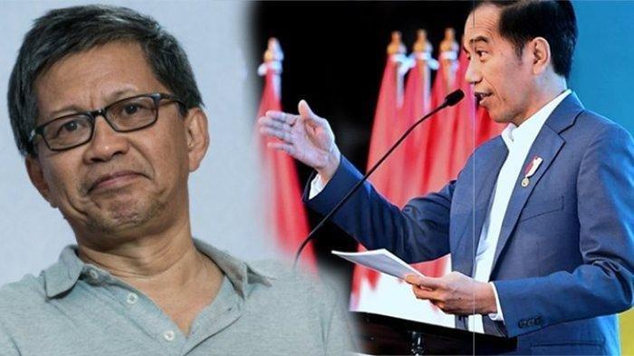 Rocky Gerung Nilai Aksi Jokowi Lempar Hadiah Jadi Pemicu Terjadinya Kerumunan di Maumere