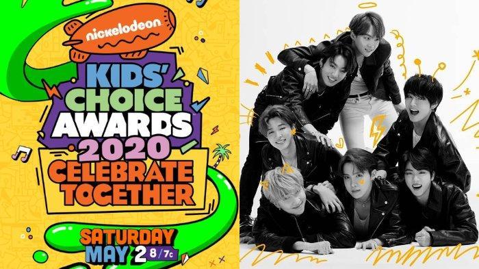 Daftar Lengkap Pemenang Nickelodeon Kids' Choice Awards 2020: BTS Raih Grup Musik Favorit