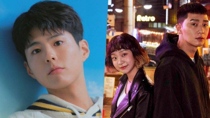 Kolase Park Bo Gum dan Cast Drama Itaewon Class