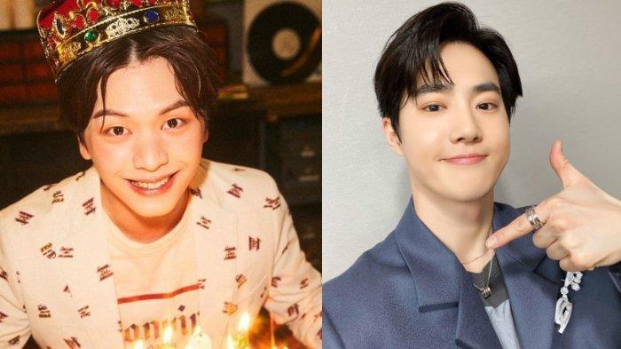 Mulai Wamil Pekan Depan, Yook Sungjae BTOB dan Suho EXO Pamitan ke Penggemar