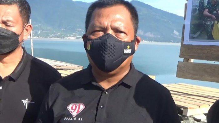 Korem 132 Tadulako Bagikan Sembako ke Penyintas Bencana di Huntara Palu
