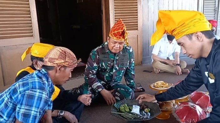 Danrem Tadulako Kunjungi Situs Sejarah Banua Oge di Kampung Lere Kota Palu