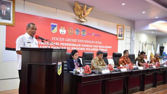 KPK Gelar FGD terkait Optimalisasi Penerimaan dan Aset Daerah di Sulteng