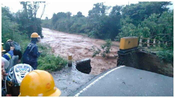 Tiga Kecamatan di Morowali Dihantam Banjir Bandang, Dua Jembatan Utama Putus
