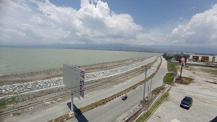 Lokasi Taman Ria Palu Jadi Gersang Pasca 3 Tahun Lalu Diterjang Gempa dan Tsunami