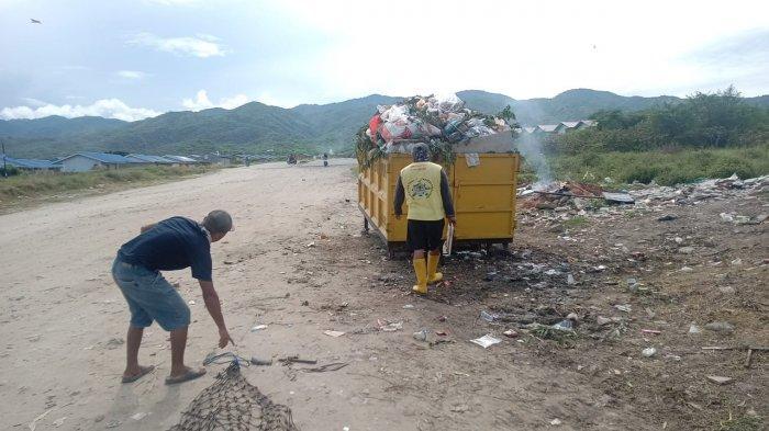 DLH Palu Sayangkan Warga Huntap Tondo Buang Sampah di Luar Jadwal