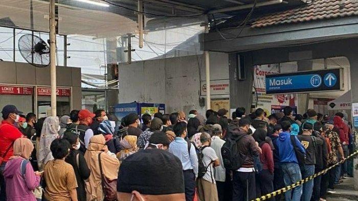 Pemerintah Larang Mudik 6-7 Mei 2021, Stasiun Pasar Senen Berangkatkan 10 Ribu Penumpang Hari Ini