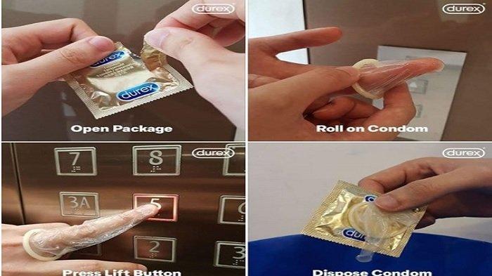 Viral Foto Jari Dilindungi Kondom demi Hindari Virus Corona, Ini Penjelasan Ilmiahnya