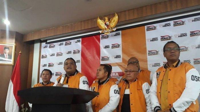 Jokowi Tak Diundang Munas Hanura,Pengamat Sebut terkait Jatah Kabinet:Tak Dapat Jatah,Wajar Meradang
