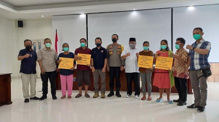 BNPT, LPSK dan Polda Sulteng Santuni Keluarga 4 Korban Terorisme Poso