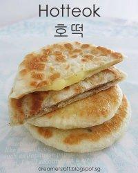 Menu Cemilan Berbuka Puasa : Hotteok atau Korean Pancake Isi Madu
