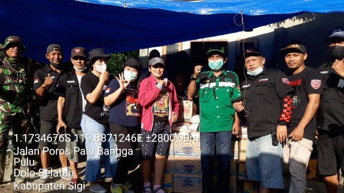 KPMKSG Sulteng Salurkan Bantuan untuk Korban Banjir Desa Rogo Sigi