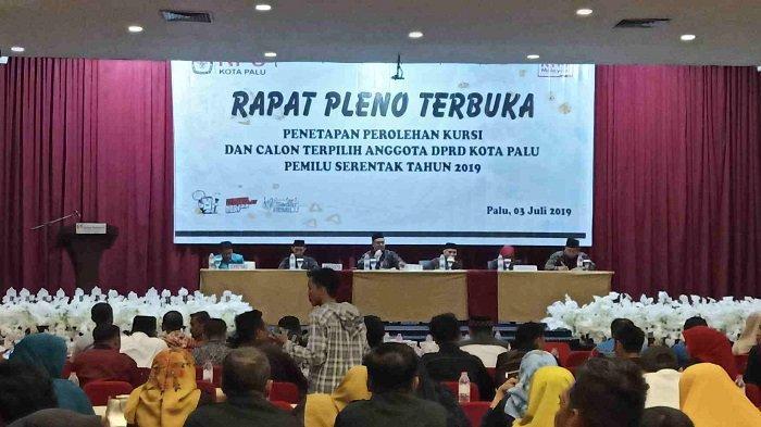 Palu Hari Ini: KPU Palu Tunda Penetapan Kursi Calon Terpilih Anggota DPRD