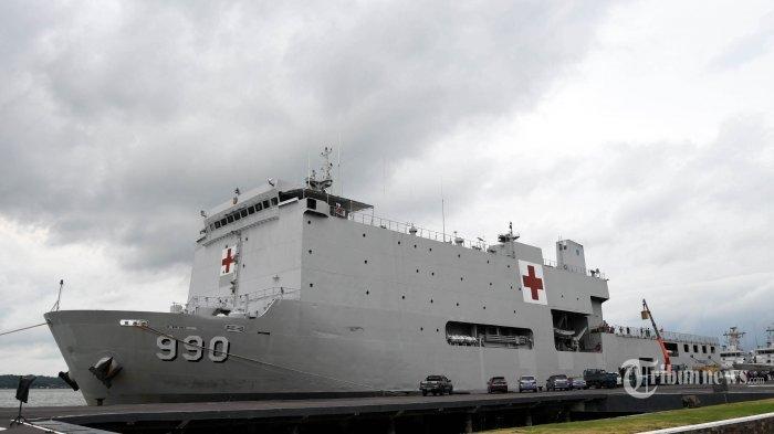 Intip Penampakan KRI Dokter Soeharso yang Bakal Jemput 74 WNI di Kapal Diamond Princess