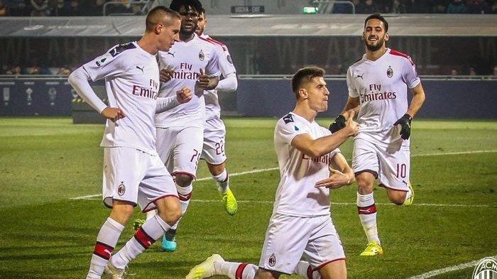 Hasil Liga Italia - AC Milan Perbaiki Posisi Klasemen Usai Menang Tipis 3-2