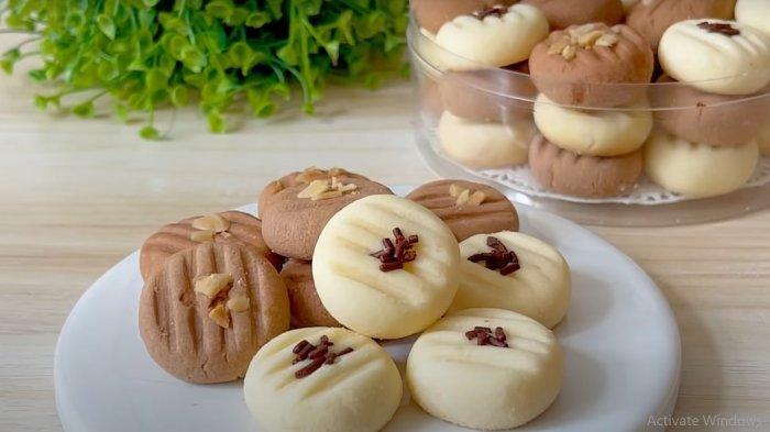 Ide Sajian Camilan Lebaran : Milky Cookies Lumer di Mulut, Tanpa Oven dan Mixer