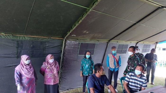 dr Reny Tinjau Vaksinasi Covid-19 di Kawatuna Palu, Harap Herd Imunnity Warga Terbentuk Sempurna