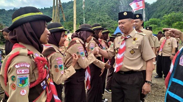Kwarcab Sigi Akan Siagakan Anggota Pramuka di Wilayah Rawan Bencana