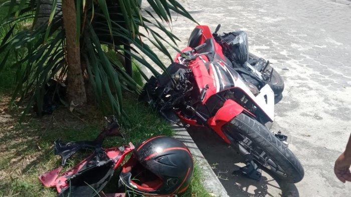 Mobil vs Motor di Jl Moh Hatta Palu, Korban Dilarikan ke Rumah Sakit