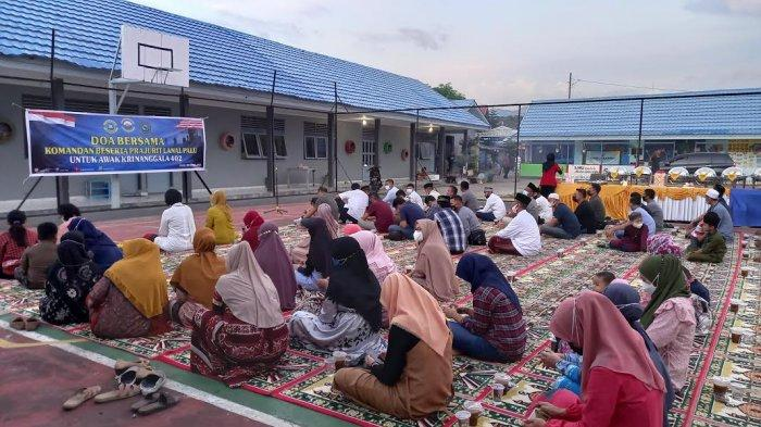 Lanal Palu Doa Bersama untuk 53 Awak KRI Nanggala-402