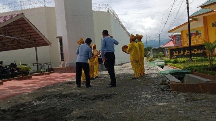 Tabuhan Rebana Bakal Sambut Menteri Yasonna Laoly di Lapas Palu