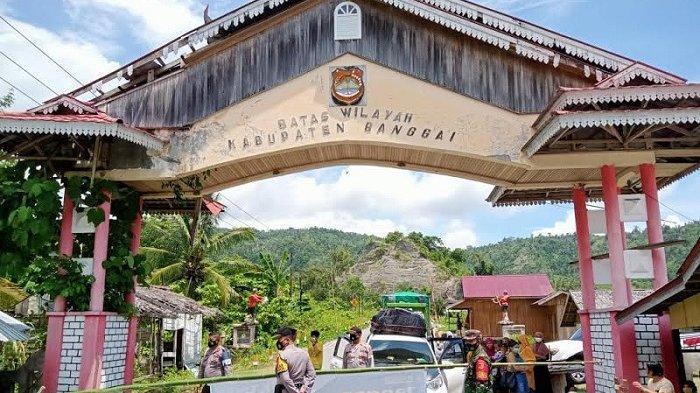 Hari Pertama Larangan Mudik, 15 Kendaraan Putar Balik di Perbatasan Banggai-Touna