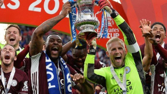 Hasil Piala FA - Leicester City Jadi Jawara Usai Kandaskan Chelsea 0-1