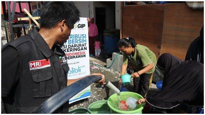 3 Bulan Penghuni Huntara di Mamboro Kesulitan Air Bersih, ACT Bantu Penuhi Kebutuhan Air Penyintas