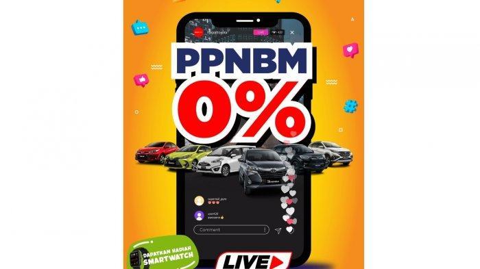 LIVE STREAMING:  PPnBM 0%, Toyota Hasjrat Palu Luncurkan Berbagai Kemudahan