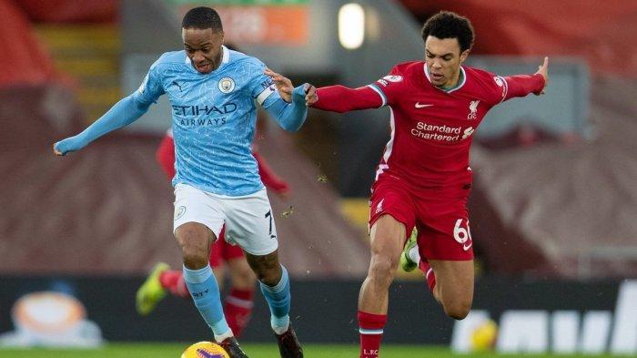 Hasil Liga Inggris - Manchester City Lumat Liverpool dengan Skor 4-1