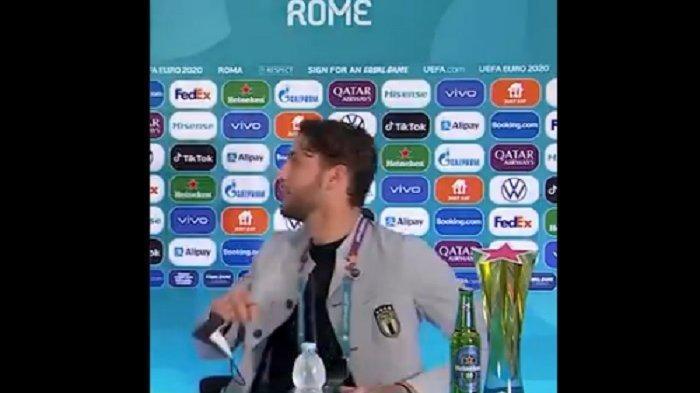 Bintang Italia Ikuti Tradisi Singkirkan Minuman Bersoda di Euro 2020, Ronaldo Jadi Trendsetter