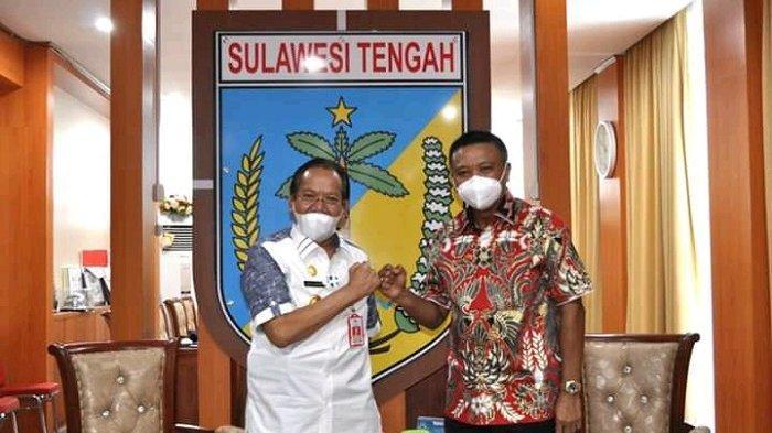 Kajati Sulteng Silahturahmi dengan Gubernur Longki Djanggola, Bahas Penertiban Aset