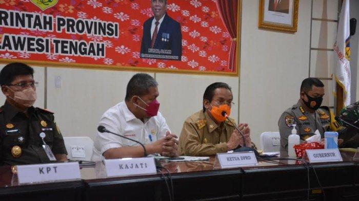 Gubernur Longki Djanggola Minta Warga Sulteng Tak Bukber di Tempat Keramaian
