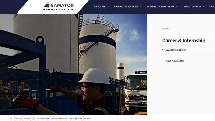Lowongan Kerja BUMN PT Aneka Gas Industri, Pendidikan Minimal Sarjana, Cek Persyaratannya di Sini