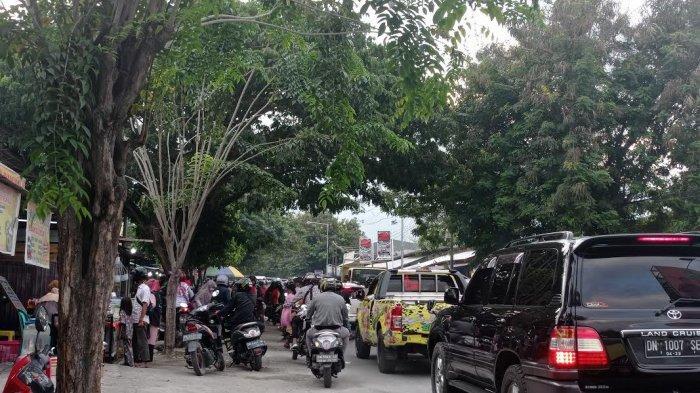 Jl I Gusti Ngurah Rai Palu Macet Jelang Buka Puasa, Ini Jalur Alternatifnya