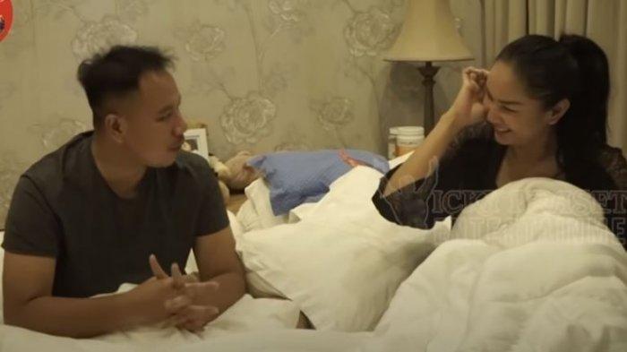 Malam Pertama dengan Vicky Prasetyo, Kalina Malu-malu Akui Ketagihan Seranjang dengan Suami Barunya
