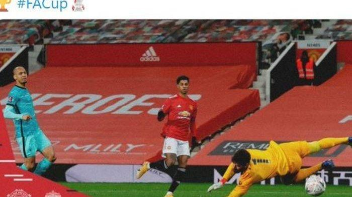 Hasil Piala FA - Manchester United Kalahkan Liverpool, Tren Buruk Anak Asuh Jurgen Klopp Berlanjut