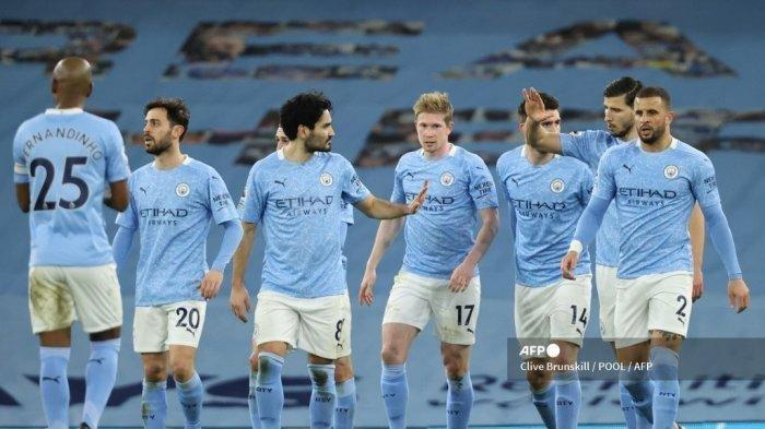 HASIL Liga Inggris - Butuh 5 Kemenangan, Ini Skenario Manchester City untuk Juara Dunia