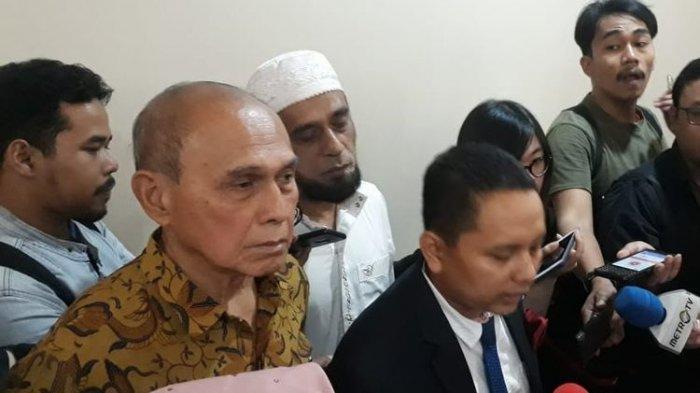 Pengakuan Kivlan Zen saat Bacakan Eksepsi: Saya Malah Mau Dibunuh Wiranto dan Luhut