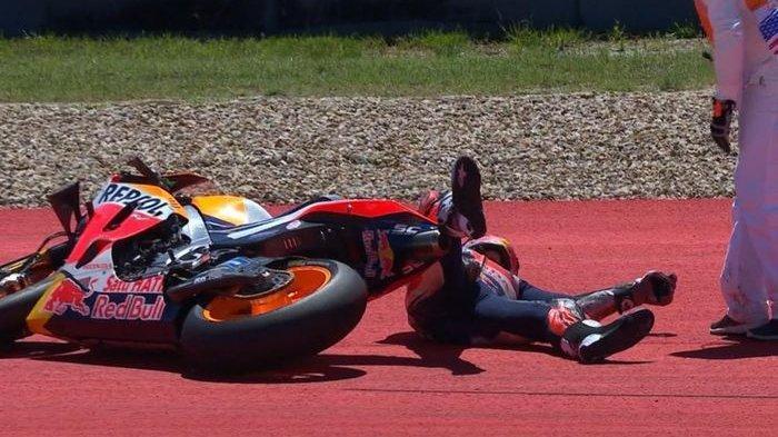 Marc Marquez Ungkap Keanehan Motor RC213V Usai Kecelakaan Highside di MotoGP Belanda