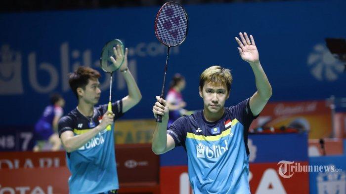 Update Hasil Korea Open 2019 Babak 32 Besar: Marcus/Kevin Menang, Bakal Bertemu Wakil Malaysia Lagi