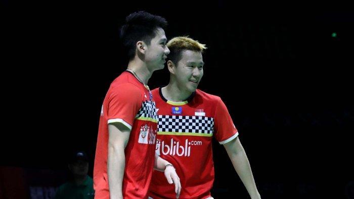 Aksi Tengil Kevin Sanjaya di Final Fuzhou China Open: Tak Niat,Pura-pura Panik, Sampai Disebut Licik